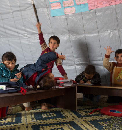 Refugee Children Want to be in School